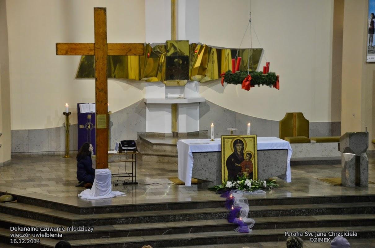 dekanalne czuwanie adwentowe 16.12.2014 wieczór uwielbienia krzyż ŚDM g.ch.  (39)